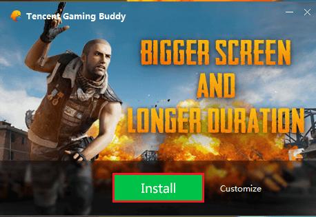 Install Tencent Emulator